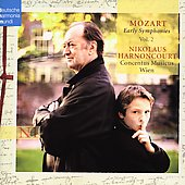 Mozart: Early Symphonies Vol 2 / Harnoncourt, et al