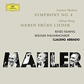 Mahler: Symphony no 4 / Abbado, Fleming, Berlin PO