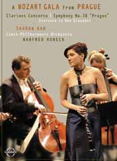 Mozart Gala From Prague A / Sharon Kam, Basset Clarinet, Czech Phil. Orch. [DVD]