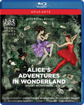 Joby Talbot: Alice's Adventures in Wonderland / Wordsworth, Royal Ballet [Blu-Ray]