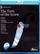 Britten: The Turn of the Screw / Miah Persson, Toby Spence, Susan Bickley, Giselle Allen. London PO, Jakub Hrusa [Blu-Ray]