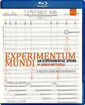 Giorgio Battistelli: Experimentum Mundi - featuring unique timbral, rhythmic and harmonic variations created by 'instruments' from everyday life / Peppe Servillo, narrator [Blu-ray]