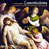 Palestrina: Third Book of Lamentations / Baker, et al