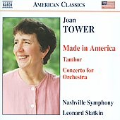 Tower: Made in America, Tambor, etc / Leonard Slatkin, et al