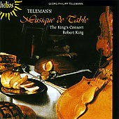Telemann: Musique de Table / Robert King, King's Consort
