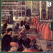 Gabrieli: In festo sanctissimae trinitatis / Tubery, et al