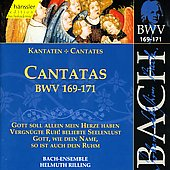 Bach: Cantatas, BWV 169-171