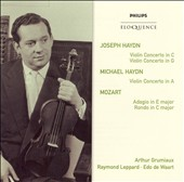 Joseph & Michael Haydn: Violin Concertos; Mozart: Adagio; Rondo