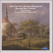 Baroque Bass Cantatas