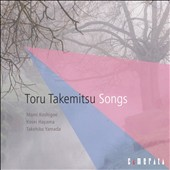 Toru Takemitsu: Songs