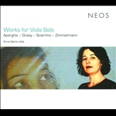 Works For Viola Solo / Anna Spina, viola