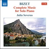 Bizet: Complete Music for Solo Piano