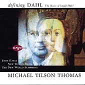 The Music of Ingolf Dahl / Tilson Thomas, New World Symphony