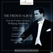 Dietrich Fischer Dieskau - The French Album: Faur&eacute;: La Bonne Chanson; Ravel: Chansons Madecasses; Poulenc: Le Bal Masque / Wolfgang Sawalisch, piano