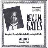 Reverend J.M. Gates: Rev. J.M. Gates, Vol. 4: 1926