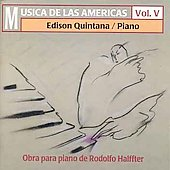 Musica de las Americas Vol 5 - Halffter: Obra para piano