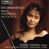 Rachmaninov: Piano Concertos no 2 & 3 / Ogawa, Hughes