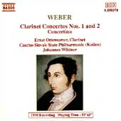 Weber: Clarinet Concertos no 1 & 2, Concertino / Ottensamer