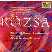 Rozsa: Violin Concerto, etc / McDuffie, Harrell, Levi, et al