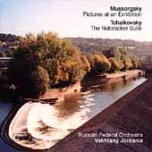 Mussorgsky: Pictures at an Exhibition;  Tchaikovsky: The Nutcracker Suite / Vakhtang Jordania, et al