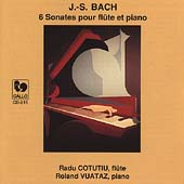 Bach: Six Sonatas for Flute & Piano / Cotutiu, Vuataz