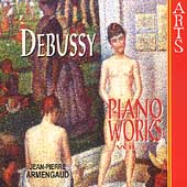Debussy: Piano Works Vol 2 / Jean-Pierre Armengaud