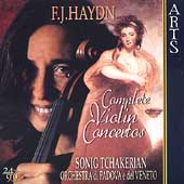 Haydn: Complete Violin Concertos / Sonig Tchakerian, et al