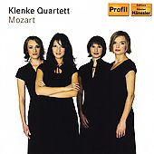 Mozart: String Quartets K 464, 465 / Klenke Quartett