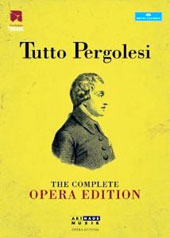 Tutto Pergolesi - The Complete Opera Edition / Live from the Festival Pergolesi Spontini in Jesi (2010-2012) [12 DVD]
