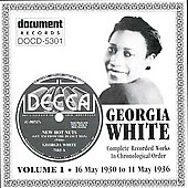 Georgia White: Complete Recorded Works, Vol. 1: 1930-1936) *