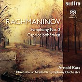 Rachmaninov: Symphony no 2, etc / Kats, Novosibirsk SO
