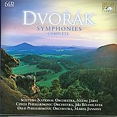 Dvorak: Symphony no 1 - 9 / Jansons, J&auml;rvi, et al