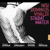 Vivaldi: Nisi Dominus, Stabat Mater / Spinosi, et al