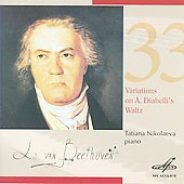 Beethoven: Variations on a Waltz by Diabelli / Tatiana Nikolaeva, piano