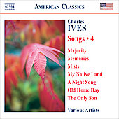 American Classics - Ives: Songs Vol 4 / Cabot, Berman, Plenk, Cavalieri, Penna, Dickson, et al