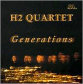 Generations - Florio, Glazunov, Gotkovsky / H2 Saxophone Quartet