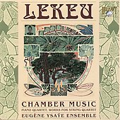 Vox Temporis - Lekeu: Chamber Music / E. Ysae Ensemble