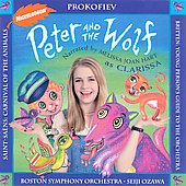 Clarissa & The Straightjackets: Peter and the Wolf *