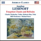 Jonathan Leshnoff: Forgotten Chants & Refrains
