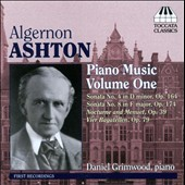 Algeron Ashton: Piano Music, Vol. 1