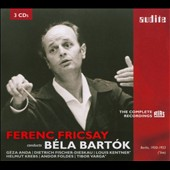 Ferenc Fricsay Conducts B&eacute;la Bart&oacute;k