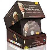 Bach: Complete Cantatas Box / Helmuth Rilling [72 CDs, 1 CD-Rom, 2 booklets]