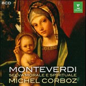 Monteverdi: Selva Morale e Spirituale / Corboz - Ensemble De Lausanne