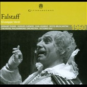 Verdi: Falstaff / Evans, Ligabue, Rota, Dominguez / Glyndebourne (1960)