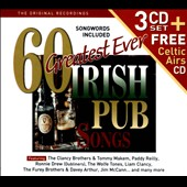 Various Artists: 60 Greatest Ever Irish Pub Songs