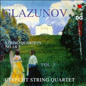 Glazunov: String Quartets nos 1 & 7, Vol. 5 / Utrecht String Quartet