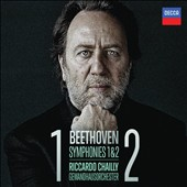 Beethoven: Symphonies Nos. 1 & 2 / Riccardo Chailly