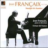Jean Fran&#231;aix: Chamber Music / Octet of France, Jean Francaix, piano