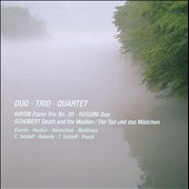 Duo, Trio, Quartet - Haydn: Piano Trio no 20; Rossini: Duo; Schubert: Death & the Maiden / Weithaas, Tetzlaff, Roberts, Posch