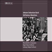 J.S. Bach: Motets / Musicalische Compagney, Klaus Eichhorn, organ